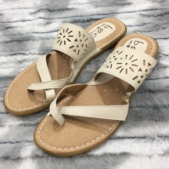 0cbb7dc96ae b.o.c. Shoes - Born On Concept Casaba slide sandals - white